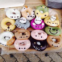 These are the cutest. See the seal one with a baby seal ontop!?