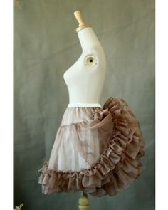 Classical Puppets Double Use Puffy Lolita Petticoat  #lolita  #petticoat  #classical  #puffy
