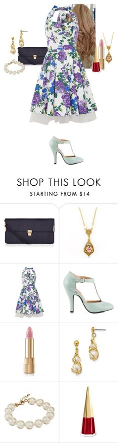 """""""Cassandra Maureen Wright"""" by katlayden ❤ liked on Polyvore featuring Accessorize, 1928, Fever Fish, Mojo Moxy, Kate Spade, MAC Cosmetics and vintage"""
