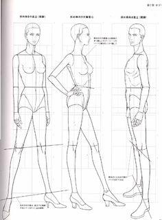 Stylisme Méthodes: Principes fondamentaux et application pratique des illustrations de mode .. Discussion sur LiveInternet - service russe Diaries en ligne