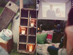 Use candles in jars as night lights! Brandon Kidd Photography - Summer Fun with Bash, Please + Design Sponge