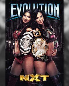Billie Kay & Peyton Royce holding former NXT Woman belt Wrestling Divas, Women's Wrestling, Nxt Divas, Total Divas, Wwe Women's Championship, Wwe Sports, Peyton Royce, Wwe Women's Division, Wwe Female Wrestlers