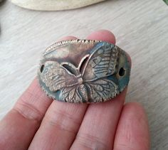 RESERVE listing for Kari  Butterfly with patina by AngelWhisperer, $12.50
