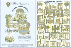 Sue Box Creations | Download Embroidery Designs | 05 - Creative Floral Gardens