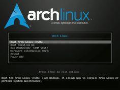Como instalar Arch Linux 2013 con entorno de escritorio- Guía actualizada
