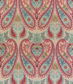 Would love this Paisley pattern in my bedroom!