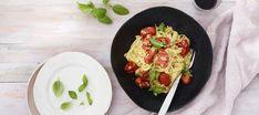 Eggs, Pasta, Breakfast, Ethnic Recipes, Food, Warm, Drinks, Recipes, Breakfast Cafe