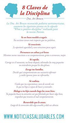 Las ocho claves de la #disciplina #Infografía