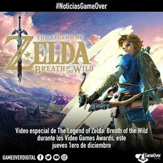Se mostrará video especial de The Legend of Zelda: Breath of the Wild durante los Video Game Awards 2016. #BreathoftheWild #Zelda #TheLegendofZelda #VGA2016 #VideoGameAwards #NintendoSwitch #Nintendo