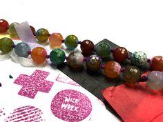 Beading Basics: Put a Pearl on it! | Alonso Sobrino Hnos. Co. & Inc. Druzy Beads and Fabrics