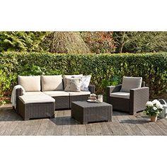 Ensemble table extensible de jardin 180 - 240 cm + 6 chaises ...