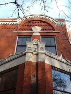 Louis Sullivan for Dankmar Adler and Co., Ann Halsted House, Chicago, Illinois, 1883