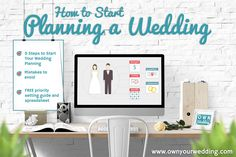 How to Start Planning a Wedding | ownyourwedding.com