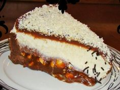 Greek Desserts, Party Desserts, Cheesecake Brownies, Pastry Recipes, Cheesecakes, Yummy Cakes, Sweet Recipes, Yummy Food, Sweets