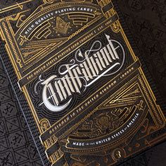 Contraband Playing Cards on Behance by Joe White