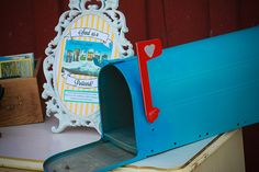 Use vintage postcards as a guestbook | Offbeat Bride