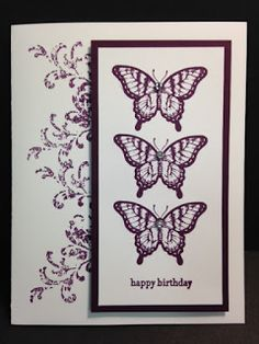 My Creative Corner!: A Papillon Potpourri and Timeless Treasures Birthday Card