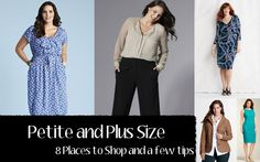Petite and Plus Size