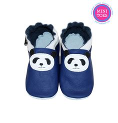Hand Made, Soft sole, leather, BABY Shoes, royal blue panda, soft leather, baby shoes, baby slippers, slipper, toddler, booties Leather Baby Shoes, Baby Slippers, Babies Stuff, Soft Leather, Royal Blue, Panda, Booty, Trending Outfits, Mini