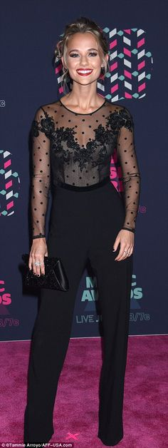 Madison Iseman at the CMT Awards