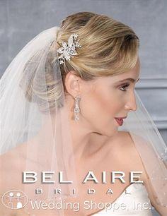 Bel Aire Bridal Headpiece 6412