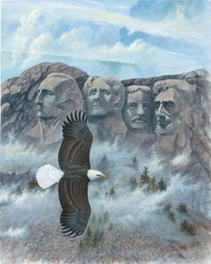 Drawing of the American Bald Eagle - Norton Safe Search
