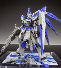GUNDAM GUY: RX-93-v2 Hi Nu Gundam Extra-Fit Evolve 5 - Painted Build