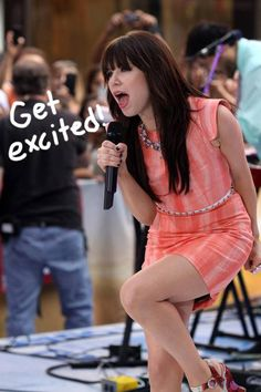 Carly Rae Jepsen is THE CUTEST!   The girl we want call maybe all time just tweeted the track list off her upcoming album, Kiss, and it's a work of art!...