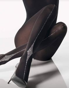 Shop tights and hosiery in the Wolford online shop. Stockings, tights, stay-ups and more. Stockings Lingerie, Lingerie Heels, Stockings Heels, Wolford Stockings, Pantyhosed Legs, Bas Sexy, Opaque Tights, Hot High Heels, Stocking Tights
