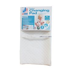 LA Baby Combo Pack with Contour Changing Pad and Terry Cover WhiteMint 32Mint * Click image to review more details.