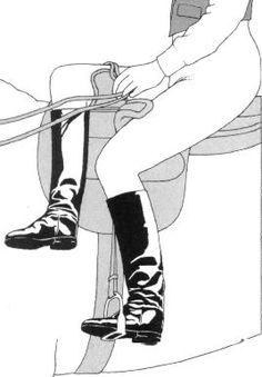 Sidesaddle Demonstration Illustration