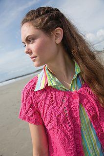 Ravelry: Short Sands pattern by Susan Mills Cardigan Sweaters For Women, Sweater Cardigan, Knitting Sweaters, Cardigans, Summer Knitting, Sands, Ravelry, Knit Crochet, Patterns
