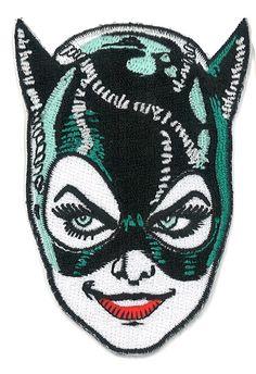 "3.5"" Cat Woman Iron-ON Patch Tim Burton 1991 Batman Returns BDSM Dominatrix catwoman Black the Dark Arkham Knight by PsychoSwami on Etsy https://www.etsy.com/listing/195475188/35-cat-woman-iron-on-patch-tim-burton"