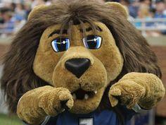 Roary - Detroit Lions maskot Inspirasjon til Løven Leon