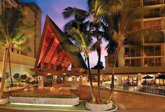 Outrigger Reef Waikiki Beach Resort - hotel entrance