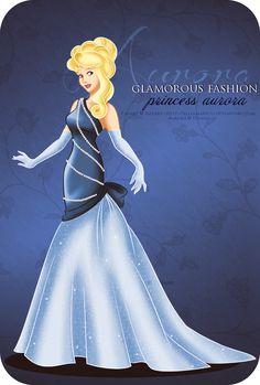 Glamorous Fashion Aurora by *selinmarsou