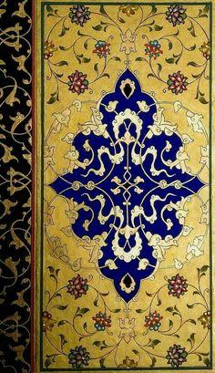 Islamic Art Pattern, Arabic Pattern, Pattern Art, Persian Pattern, Persian Motifs, Motif Oriental, Illumination Art, Turkish Art, Islamic Art Calligraphy