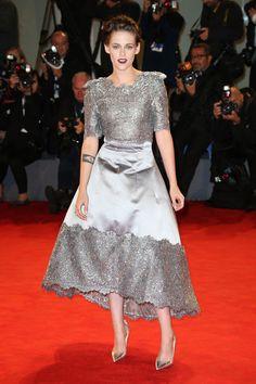 Kristen Stewart in Chanel   - HarpersBAZAAR.com