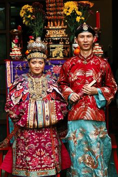 The History Of Malacca: Culture Of Peranakan of Baba and Nyonya In ...