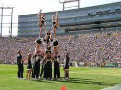 Green Packers cheerleaders & girls- 3
