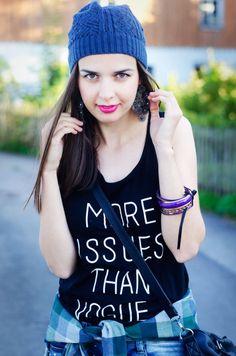 MaryPolka | A Fashion and Lifestyle Blog   Top @dresslink  #backtoschool #ootd #lookbook #ootn #fashion #fashionista #fashionblogger #lookoftheday #rippedjeans #tshirt #hat #converse #handbacg #vogue #dresslink #smile #streetstyle #casula #chic #look #chiclook  # plaidshirt #styleblogger #MaryPolka  #blogger    MY FASHION BLOG: http://marypolka.com   My Back to School Lookbook Video: https://youtu.be/Z9RH75gOX7U