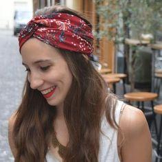 Coudre un twisted turban à partir d'un rectangle de tissu, c'est simple comme bonjour | Filoute Plus