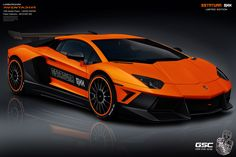 Lamborghini Aventador Estatura GXX Limited Edition - A modification package embedded on variants supercar Lamborghini Aventador, introduced modifications house by the German Special Customs. The result, a Lamborghini Aventador Estatura GXX good looking and aggressive design.