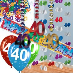 1000 images about fiesta 40 cumplea os 40th birthday for Decoracion fiesta cumpleanos adultos