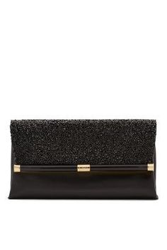 Sleek and refined, our 440 Envelope Clutch is a silhouette for all seasons, updated with stunning crystals. #DVFholiday