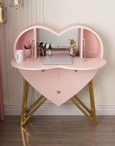 Room Design Bedroom, Room Ideas Bedroom, Home Room Design, Home Bedroom, Bedroom Decor, Dressing Table Design, Beauty Room Decor, Cute Room Decor, Aesthetic Room Decor