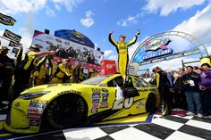 All of Matt Kenseth's Sprint Cup Series victories:   Sunday, May 15, 2016  -   37. AAA 400 Drive for Autism:   Dover International Speedway  -   May 15, 2016  -    Kenseth's first win of 2016 came 12 races in, breaking a string of bad luck for the '03 champ. In an intense battle between Kyle Larson and Chase Elliott, the JGR wheelman held the pair off to take the checkered.