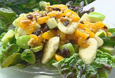 Fruit Salad with Honey Dressing from FoodNetwork.com