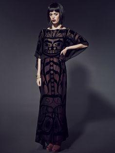 Totem Kimono Dress by Lindsey Thornburg