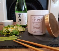 Cucumber Wasabi & Coriander Scented Candle
